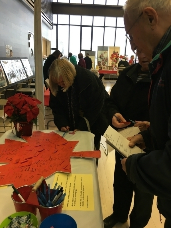 Dec 2 Canada 150 at Mill Woods Seniors and Multicultural Centre